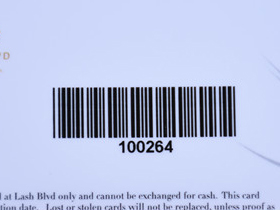 thermal print barcode