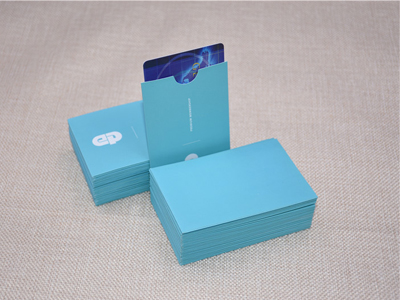 Business Card Sleeve