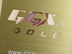 Gold Brushed and CUTOUT