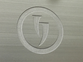 Deep Etched LOGO