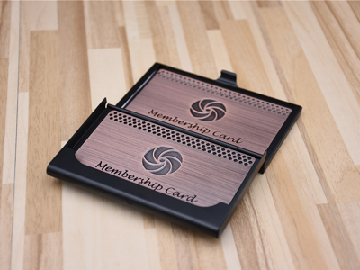 Red Bronze Business Card